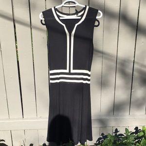 Hugo Boss Black&White Knit Dress Size S